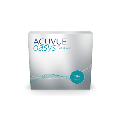 ACUVUE OASYS® 1-Day with HydraLuxe® Technology